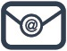 HaDSCO Icon for Email envelope in blue